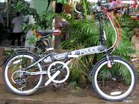 20 Inch Element Police Folding Bike