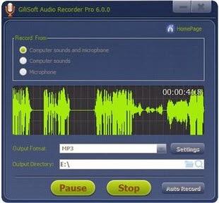 GiliSoft Audio Recorder Pro 6.1.0