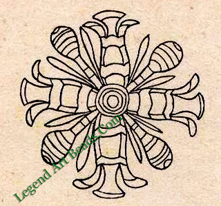 Roundel from furniture of Queen Hetep-her-es