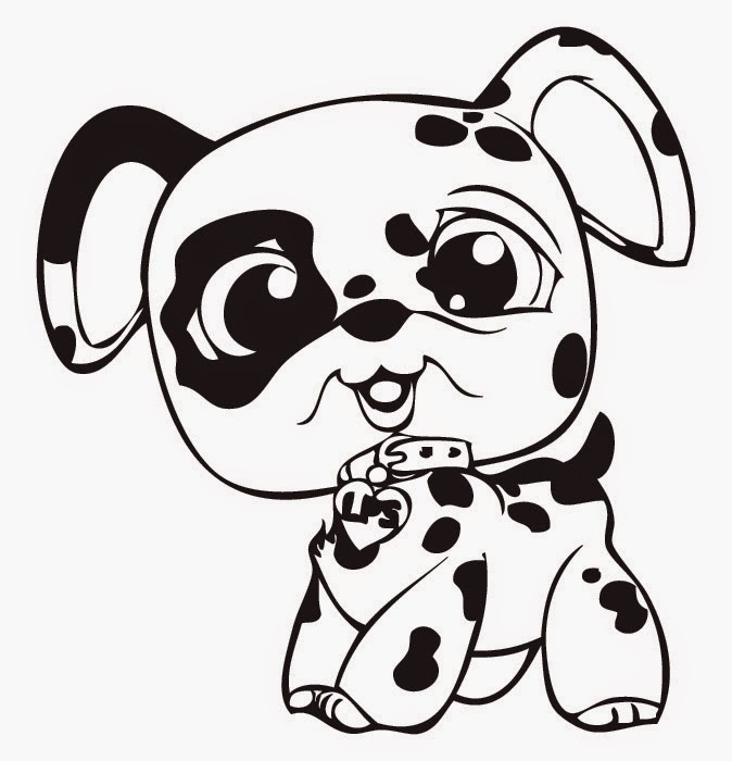 Littlest pet shop coloring pages online free coloring for Littlest pet shop coloring pages dog
