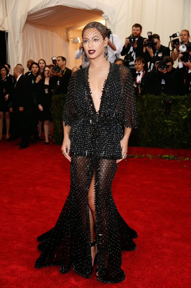Beyoncé Knowles in Givenchy Couture