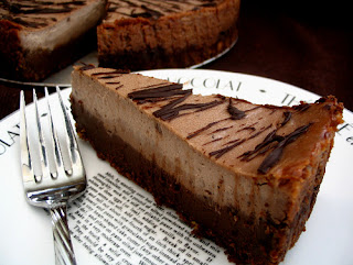 ~CHOC CHEESE CAKE~