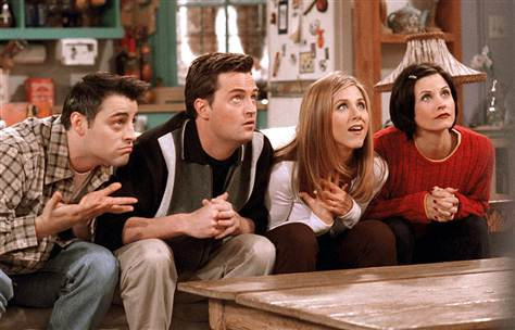 The Perennial Teenager Favourite Scenes From Friends