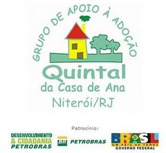 GRUPO DE APOIO Á ADOÇAO QUINTAL DA CASA DE ANA