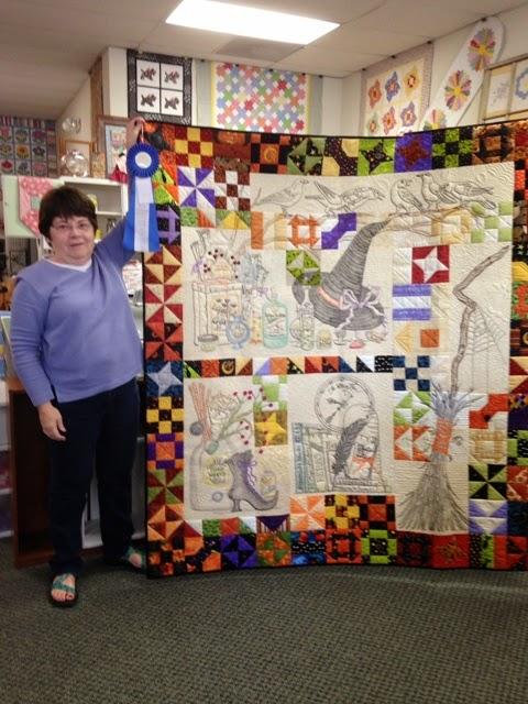 Attic Window Quilt Shop: A FIRST PLACE WINNER : michigan quilt shows - Adamdwight.com
