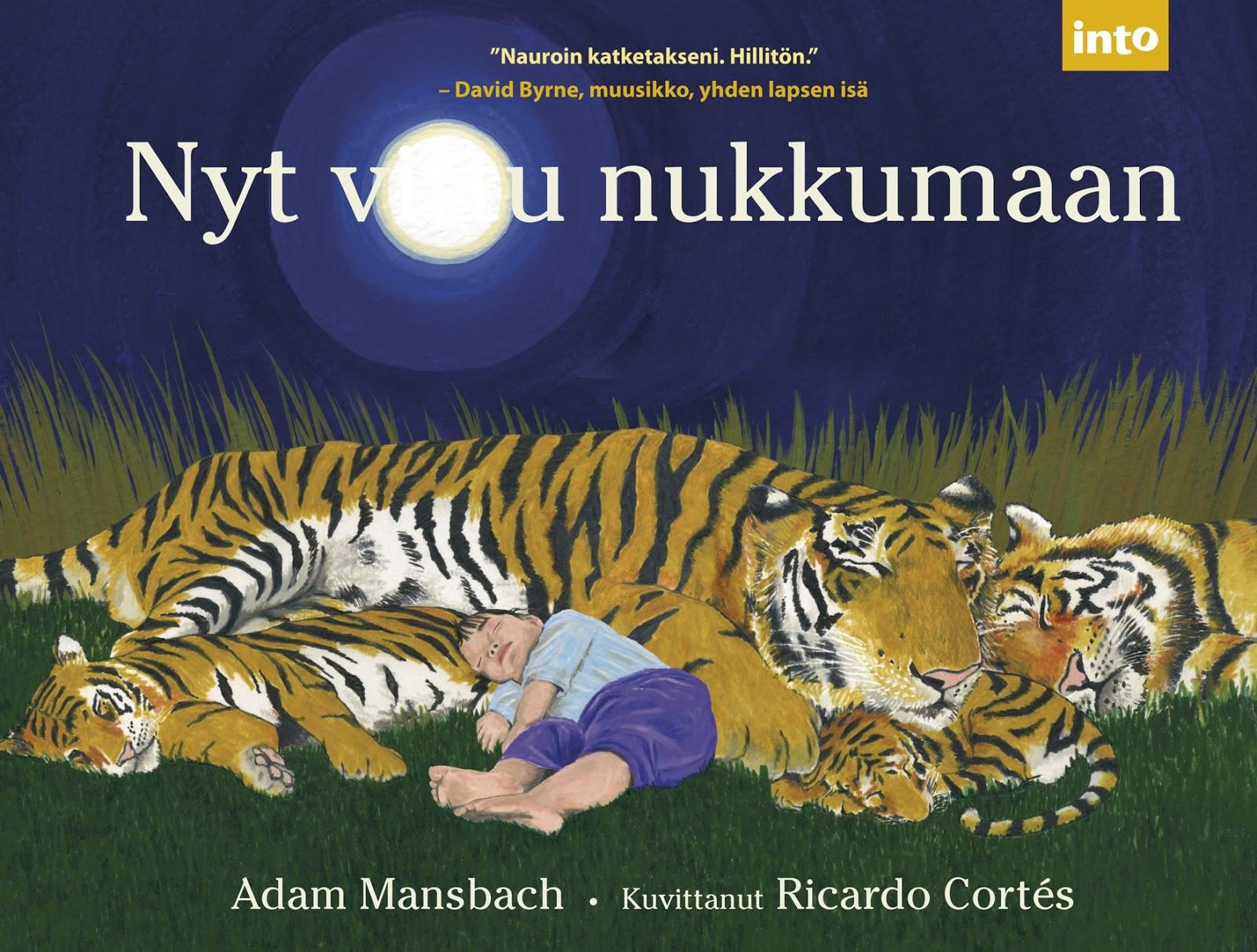 Kirja: Nyt Vittu Nukkumaan