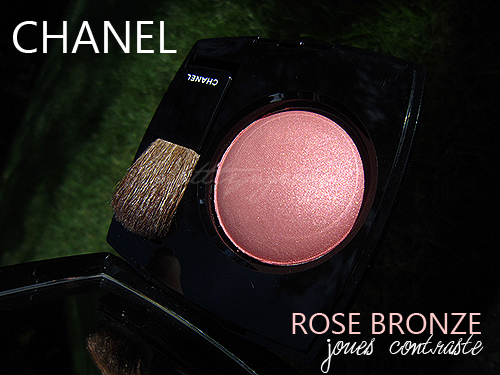 chanel rose bronze blush review