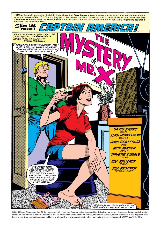 Captain America (1968) Issue #271 #187 - English 2