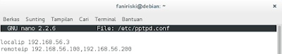 Konfigurasi VPN PPTP Debian 8 (1)