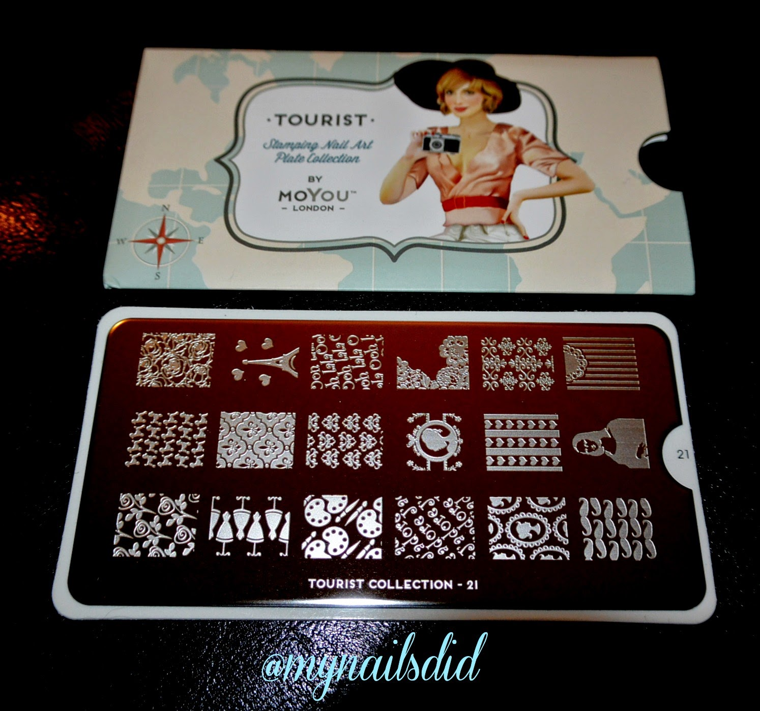 MoYou London Nail Art Stamping Plates