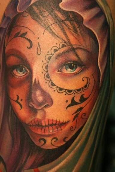 Here Are Some Tattoos Related To The Day Of Dead