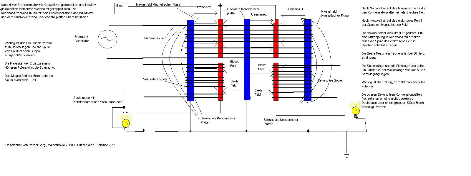 Как из двух конденсаторов сделать один 47