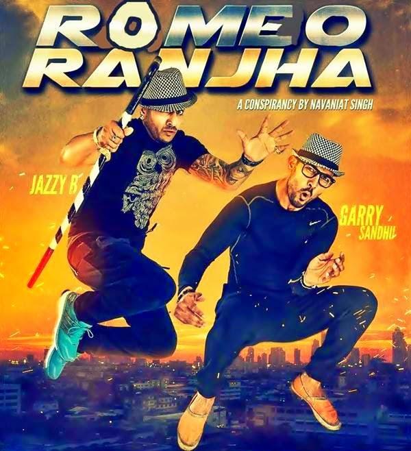 Punjabi Film Poster | Romeo Ranjha | Jazzy B Garry Sandhu