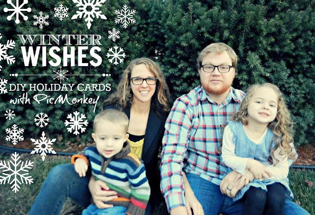 diy picmonkey holiday cards
