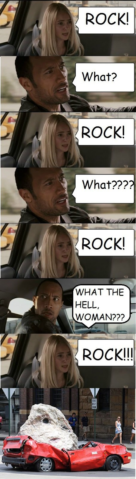 The Rock Never Listened To What The Girl Really Meant!