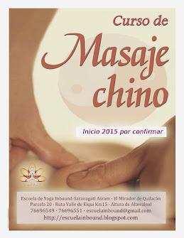 Formación en MASAJE CHINO - 2015