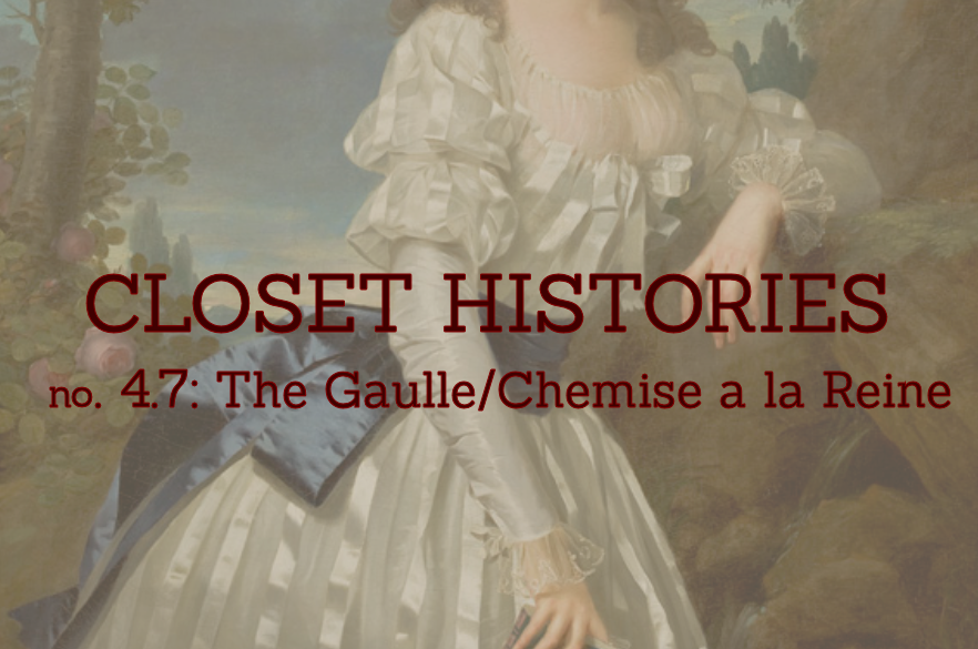 The Closet Historian: Closet Histories no. 4.7: The Gaulle/Chemise a ...