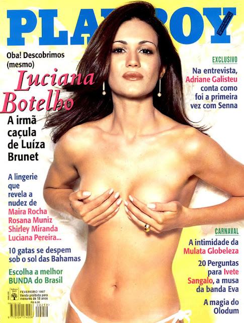 Luciana Botelho - Playboy 1997