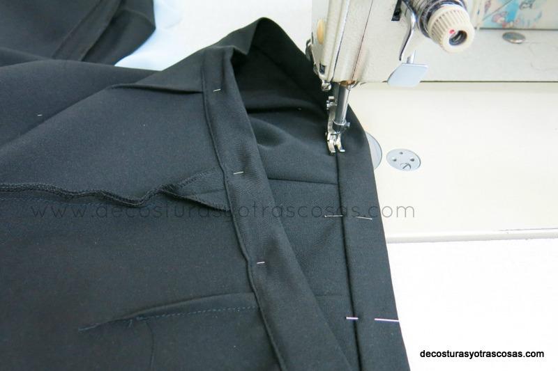 como coser cinturilla