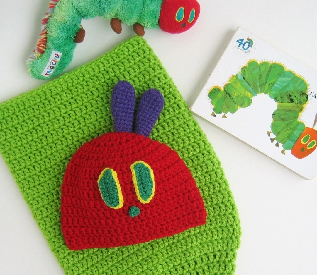 Crochet Caterpillar Hat Pattern : .: Very Hungry Caterpillar Crochet Pattern
