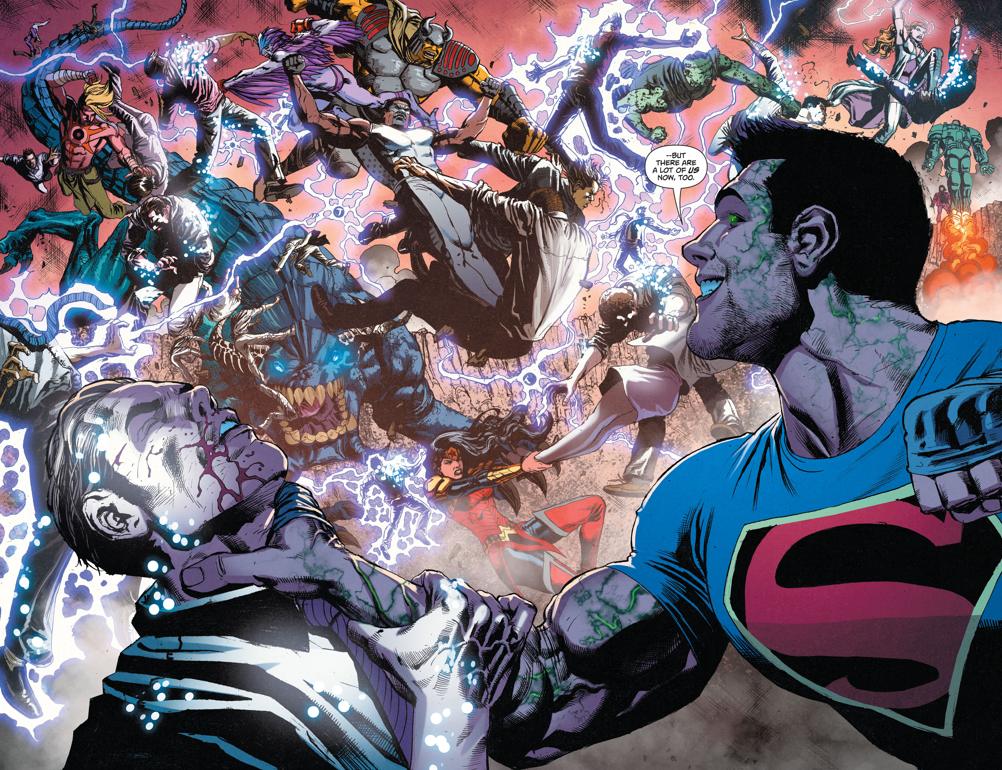 Read online Superman (2011) comic -  Issue #49 - 16
