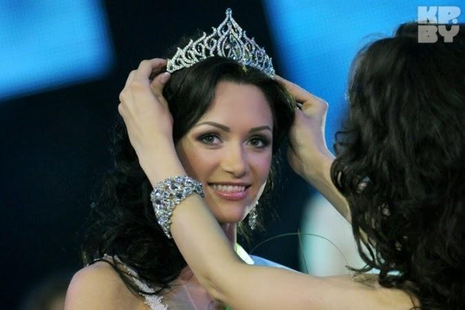 Miss Belarus 2014 winner Viktoriya Miganovich