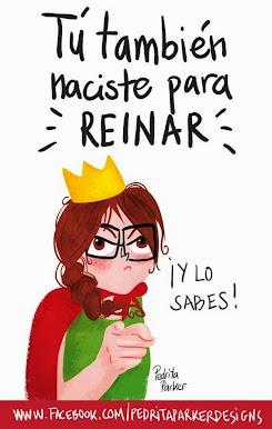princesas, marquesitas, reinas y reinonas