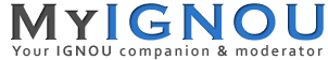 MyIGNOU.IN - IGNOU 2015 Solved Assignments, Grade Card, Hall Ticket,  Admission, Results, Books