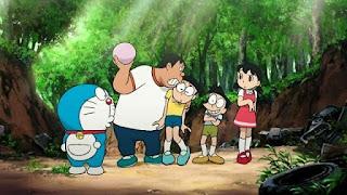 Doraemon dan teman-teman wallpaper