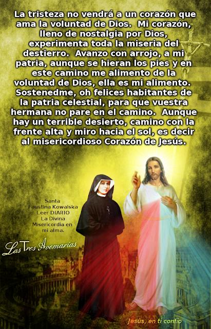 ver foto de jesus con santa faustina