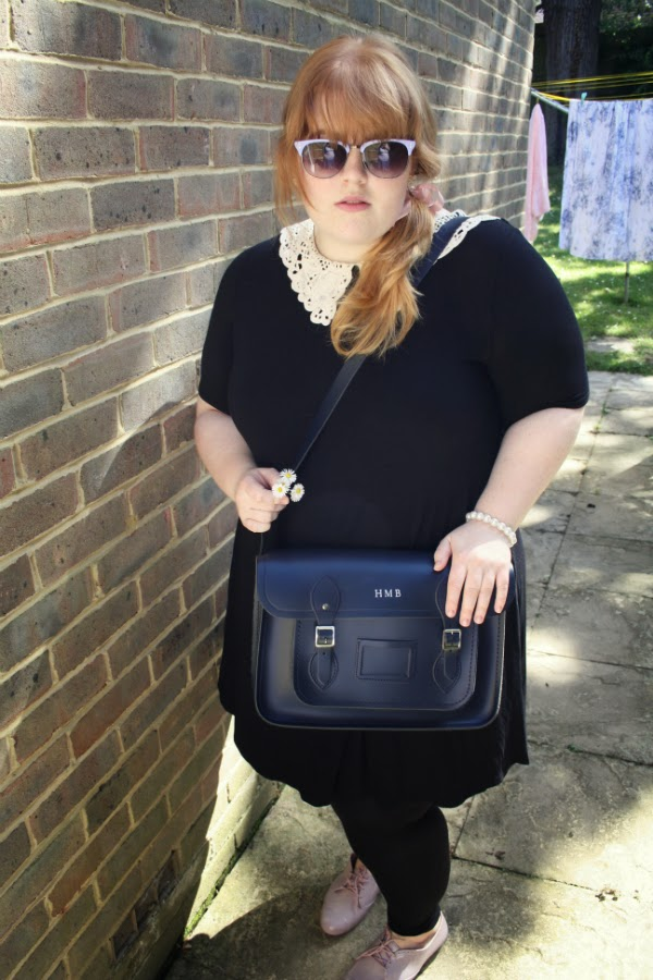 fashion and beauty blog, plus size fashion blog, plus size fashion, spring fashion, cambridge satchel, ginger and blonde ombre