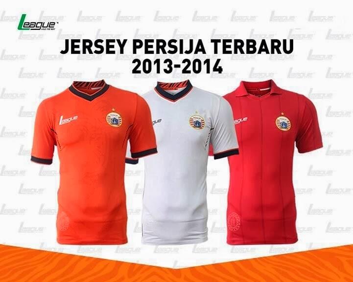 Jersey Persija GO Untuk Kompetisi Liga Indonesia 2014