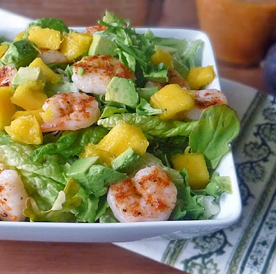 Mango Avocado Shrimp Salad Recipe | by Life Tastes Good