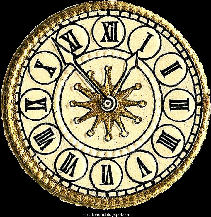 Рисунок часы старинные
