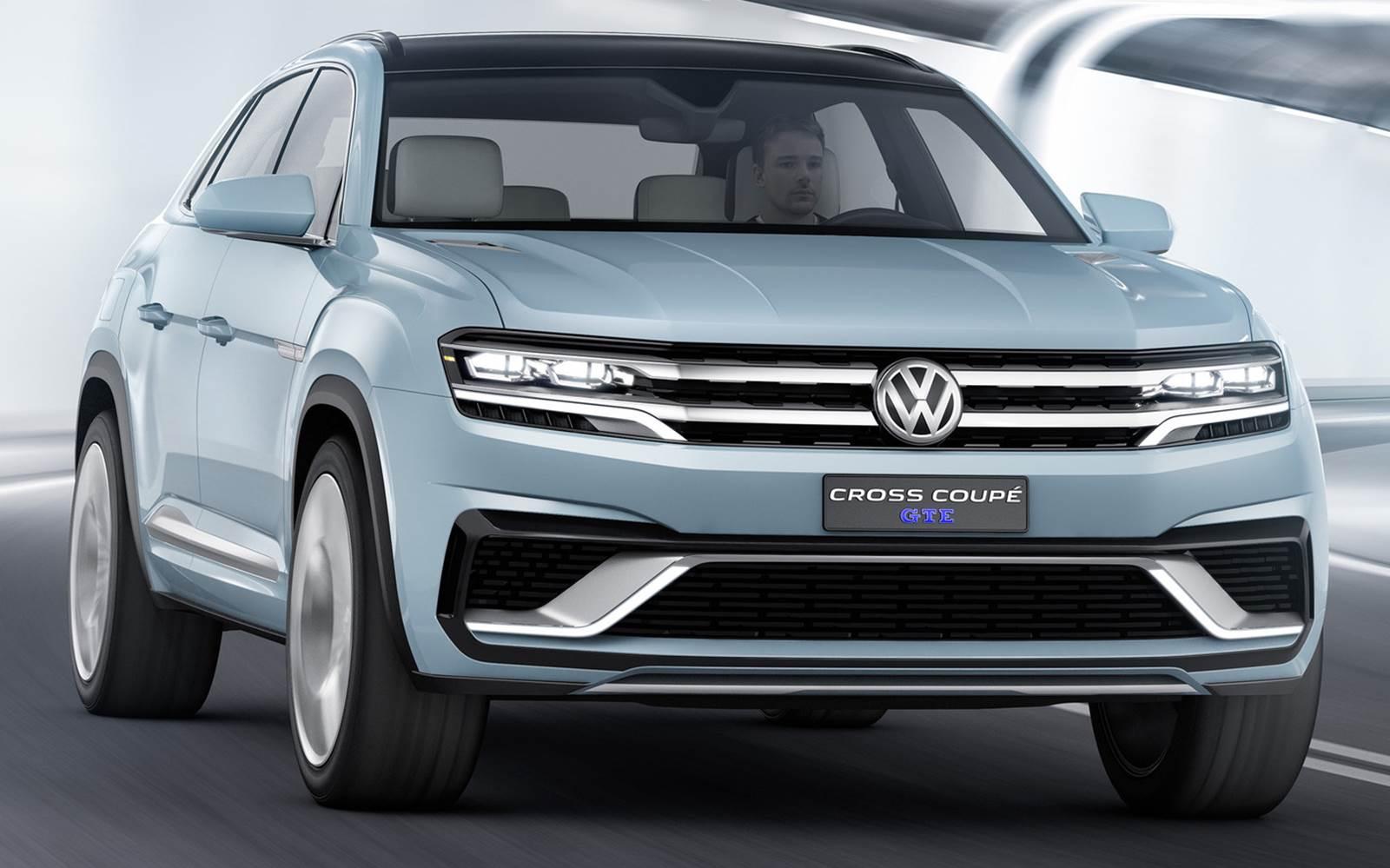 Volkswagen Cross Coup 233 Gte Antecipa Linhas Do Golf Suv