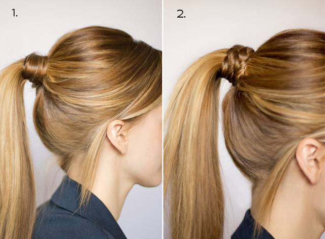Hair And Make Up By Steph Ten Ways To Dress Up A Ponytail