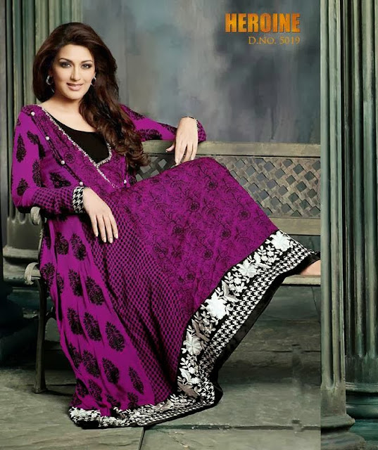 Sonali Bendre Winter Wear Stylish Arrivals 2013-14 For Girls & Women