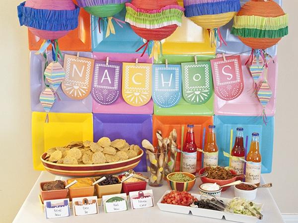 Decoracion Estilo Mexicano Para Fiesta ~  Los 7 tipos de fondos m?s bonitos para tu mesa de dulces y postres