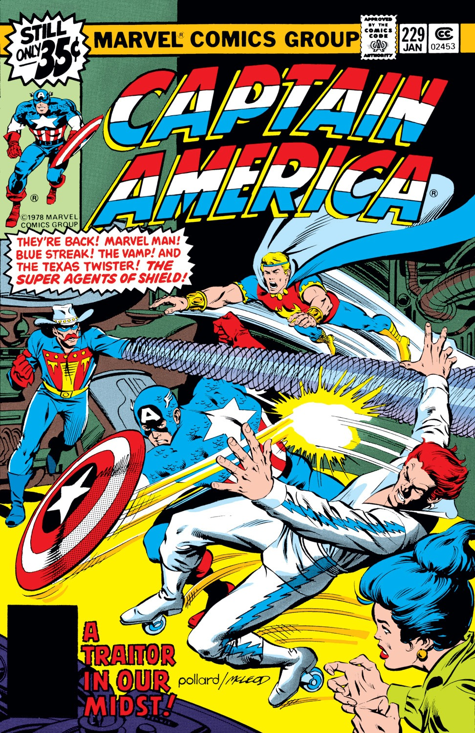 Captain America (1968) Issue #229 #143 - English 1