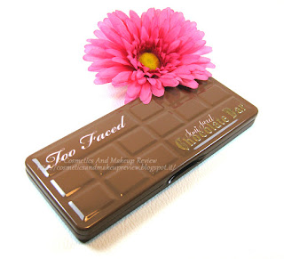 Too Faced - Semi-Sweet Chocolate Bar - palette front
