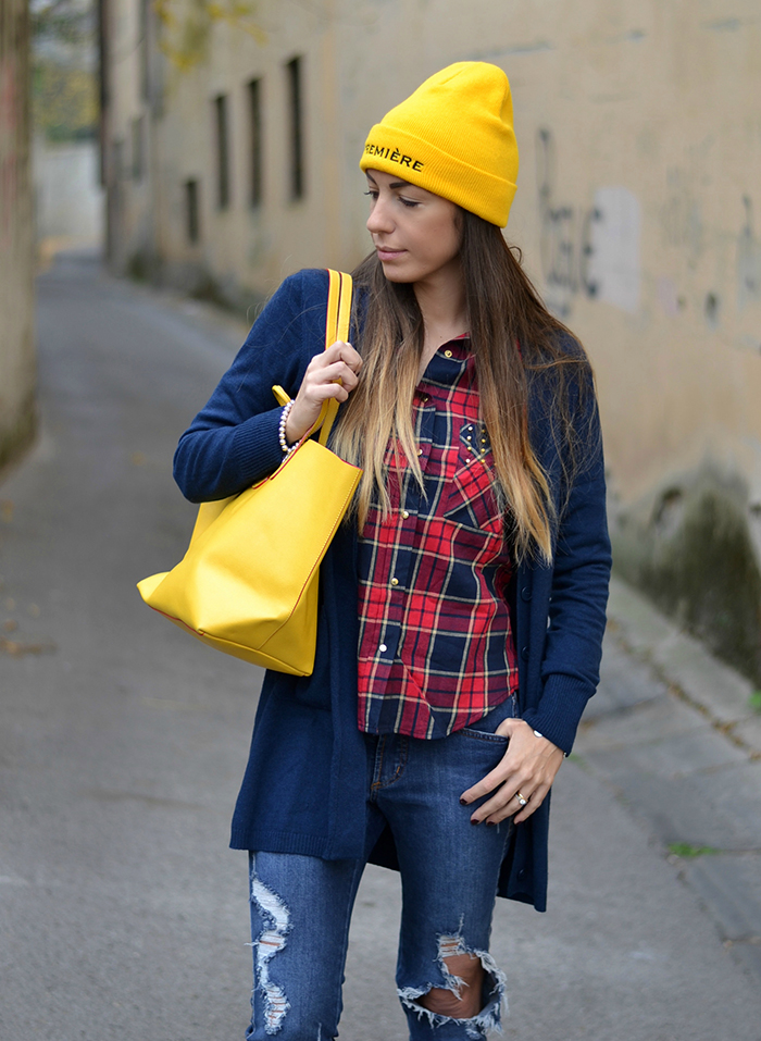 look accessori gialli