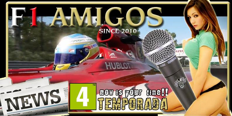 F1 AMIGOS NEWS