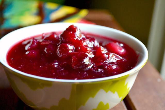 cranberry sauce recipe with maple