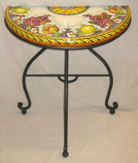La Bottega dell\'Artista: Tavoli in ceramica