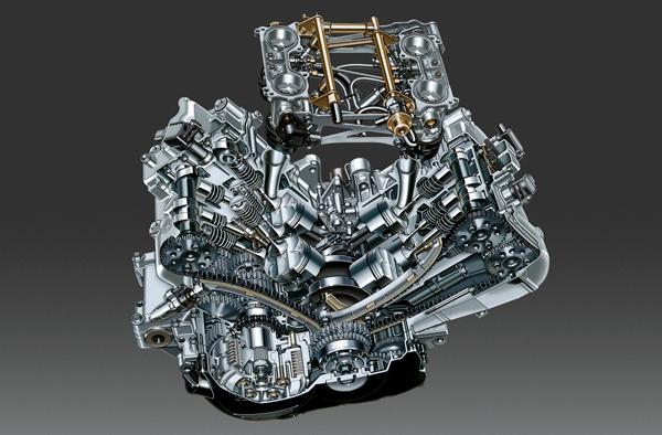 2002 VFR Engine(Production Model)