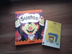 Gracias a lo que juntamos en la alcancia pudimos comprarnos estos hermosos libros!!