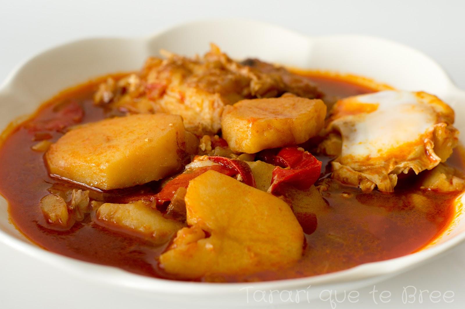Un blog sobre vida y comida patatas con bacalao y huevo for Cocina bacalao con patatas