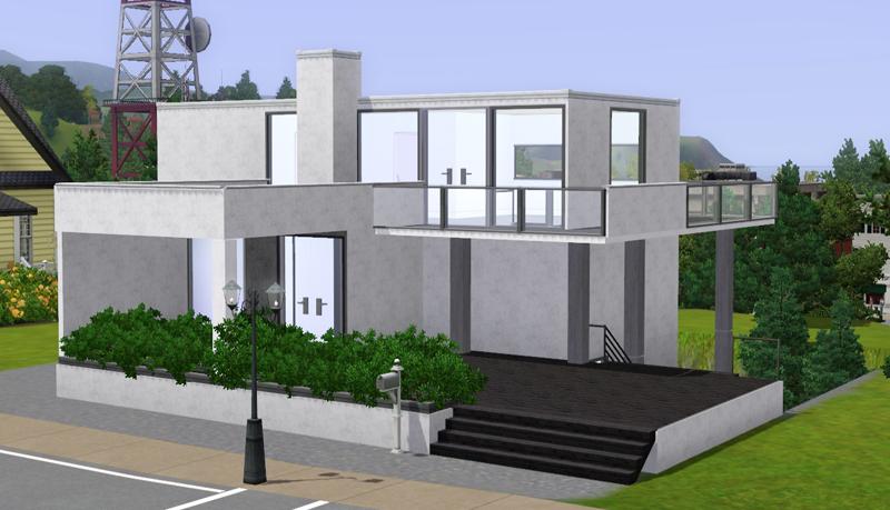 My Sims 3 Blog Rajkavik Modern Family Home By MacTheKat
