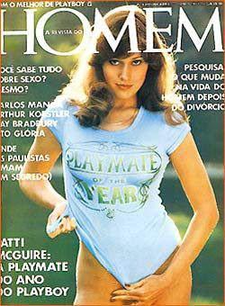 Confira as fotos de Patty McGuire, capa da Revista Homem de junho de 1977!