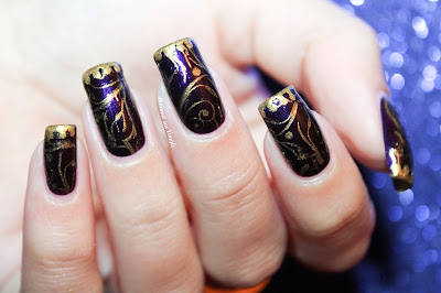 A Queen // Reign Inspired Nail Art